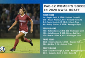 Eleven Pac-12 women's soccer standouts selected in the 2020 NWSL Draft