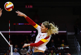 <p>USC women's volleyball Alexis Olgard</p>