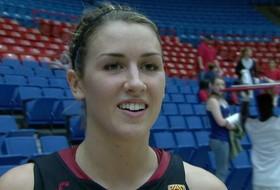 USC's Christina Marinacci discusses win over 'Cats