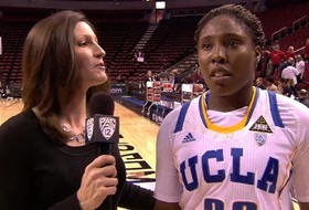 UCLA's Jasmine Dixon talks win over Utah