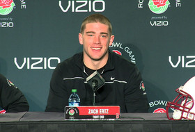 Zach Ertz on playing in three-straight BCS games (press conference video)
