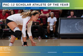 Stanford's Morgan Hentz named Pac-12 Volleyball Scholar-Athlete of the Year