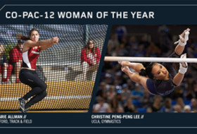 Allman, Peng-Peng Lee Named Co-Pac-12 Woman of the Year