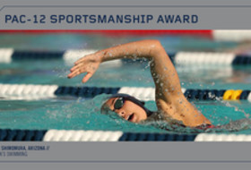 Arizona's Sarah Shimomura awarded 2018 Pac-12 Sportsmanship Award