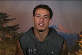 Washington football's Byron Murphy on basketball skills, matchup with Auburn