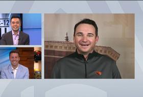 OSU's Jonathan Smith talks Isaiah Hodgins' development, Beavers' defensive improvements