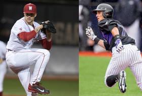 Washington State's Joe Pistorese and Washington's Braden Bishop were named Players of the Week