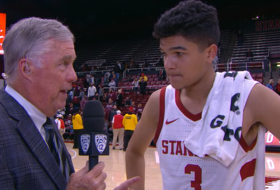 Tyrell Terry proud of Stanford's second-half intensity in season-opening win