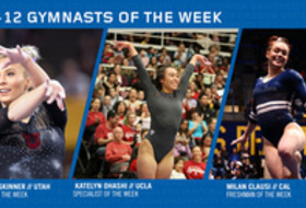 UTAH's Skinner, Cal's Clausi and UCLA's Ohashi land this week's Pac-12 gymnast of the week awards