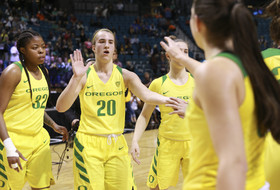 2019 Pac-12 Women's Basketball Tournament: Sabrina Ionescu's double-double sends Ducks to semifinals over Arizona
