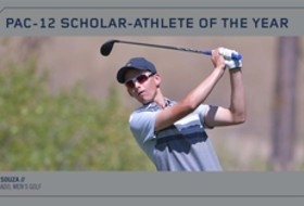 Colorado's Souza named Pac-12 Men's Golf Scholar-Athlete of the Year