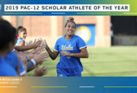 UCLA's Kaiya McCullough named Pac-12 women's soccer scholar athlete of the year