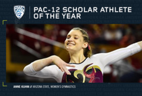 Arizona State's Anne Kuhm named Pac-12 Women's Gymnastics Scholar-Athlete of the Year