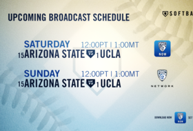 Softball league play begins with No. 1 UCLA vs. No. 15 Arizona State this week on Pac-12 Networks