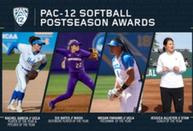 Pac-12 announces 2019 softball All-Conference honors