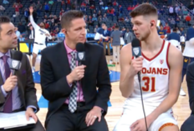 2019 Pac-12 Men's Basketball Tournament: USC's Nick Rakocevic reflects on Trojans' motivation, team win over Arizona