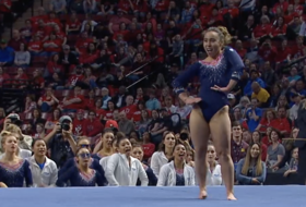 2019 Pac-12 Women's Gymnastics Championship: UCLA's Katelyn Ohashi unveils new floor routine with perfection
