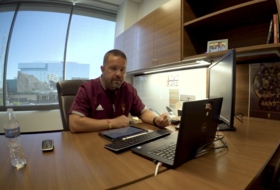 An exclusive look inside an Arizona State football virtual offensive meeting