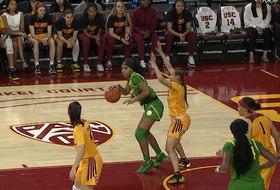 Recap: No. 3 Oregon women's basketball extends winning streak to 12 after 93-67 victory over USC