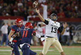 Colorado's Sefo Liufau, Nelson Spruce play a game of role-reversal