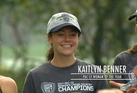 Colorado's Kaitlyn Benner takes home Pac-12 Woman of the Year award