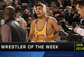 ASU's Zahid Valencia wins Pac-12 Wrestler of the Week award for record-breaking week