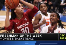 Stanford's Haley Jones earns Pac-12 Freshman of the Week honors