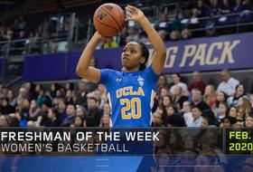 UCLA's Charisma Osborne collects Pac-12 Women's Basketball Freshman of the Week accolades