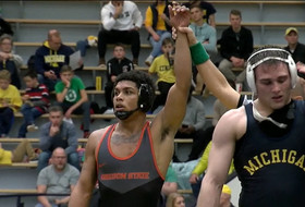 Highlights: Oregon State wrestling stuns No. 22 Michigan in Ann Arbor