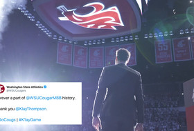 Klay Thompson's unforgettable return to Pullman through the lens of Twitter