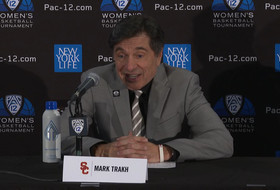 2020 Pac-12 Women's Basketball Tournament: Mark Trakh talks chance at NCAA Tournament after USC's victory versus Colorado