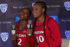2019 Pac-12 Women's Basketball Media Day: Arizona's podium session