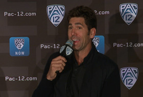 2019 Pac-12 Men's Basketball Media Day: Warriors President of Basketball Operations Bob Myers reflects on Mick Cronin's arrival at UCLA