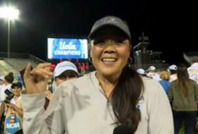 UCLA head coach Kelly Inouye-Perez on WCWS win: 'We were on a mission'