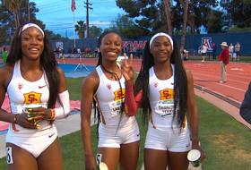 2019 Pac-12 Track & Field Championships: Twanisha Terry leads trio of USC sprinters in 100-meter dash