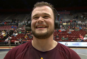 'If you're not first, you're last': Arizona State wrestling's Tanner Hall on winning Pac-12 title and preparing for NCAAs