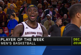 Arizona State's Zylan Cheatham named Pac-12 Men's Basketball Player of the Week after posting second triple-double in program history