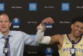 2019 Pac-12 Men's Basketball Tournament: Mike Hopkins says Matisse Thybulle is 'like having Deion Sanders'