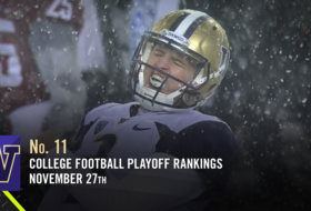 Washington football climbs to No. 11 in CFP rankings after Apple Cup win