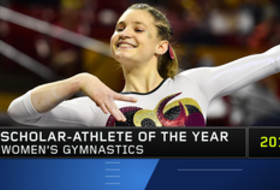 ASU's Anne Kuhm named Pac-12 Gymnastics Scholar-Athlete of the Year