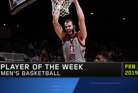 Stanford's Josh Sharma earns Pac-12 Men's Basketball Player of the Week after leading the Cardinal to its largest win over UCLA in 22 years