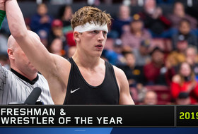 Stanford's Shane Griffith named Pac-12 Wrestling Freshman and Wrestler of the Year
