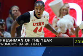 Dre'Una Edwards earns Utah's first Pac-12 Women's Basketball year-end award with Freshman of the Year honor