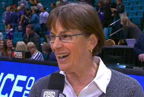 2019 Pac-12 Women's Basketball Tournament: Tara VanDerveer on Maya Dodson as a 'difference-maker' in Las Vegas