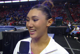 2019 Pac-12 Women's Gymnastics Championship: UCLA's Kyla Ross says she was 'in shock' by her team's season-high score