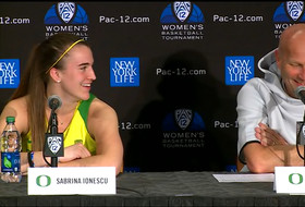 2019 Pac-12 Women's Basketball Tournament: Sabrina Ionescu 'would have played the same way if Obama was' courtside in Las Vegas