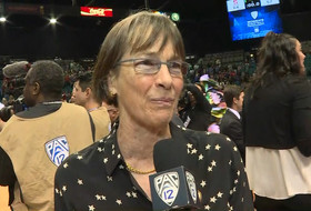 2019 Pac-12 Women's Basketball Tournament: Tara VanDerveer after guiding Cardinal to crown: 'This group worked really hard to get this'