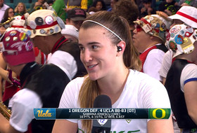 2019 Pac-12 Women's Basketball Tournament: Oregon's Sabrina Ionescu looks back on overtime win: 'This team's a lot more than me'