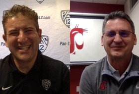 Kyle Smith emphasizes Washington State's goal to improve defensively in conversation with Andy Katz