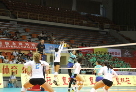 2016 Pac-12 All-Star Volleyball China tour last match